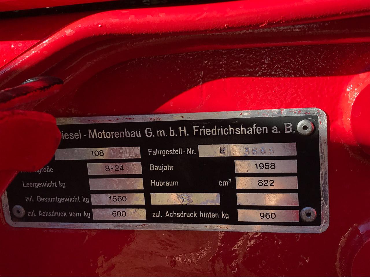 #20 1958 Porsche 108K Junior
